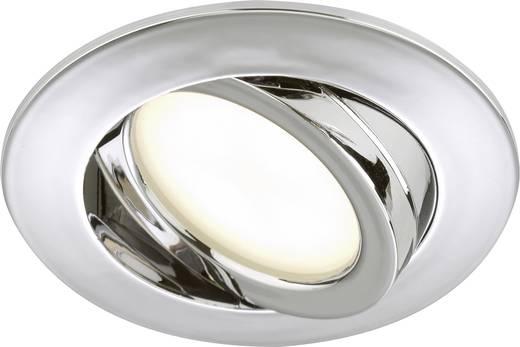 LED-Einbauleuchte 5 W Warm-Weiß Briloner 7209-018 Chrom