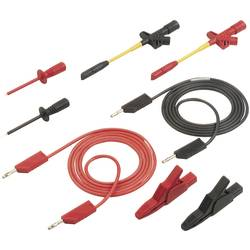 Sada měřicích kabelů banánek 4 mm ⇔ banánek 4 mm SKS Hirschmann PMS 4 KFZ, 1,5 m
