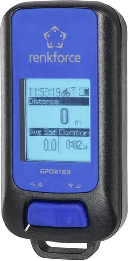 GPS logger Renkforce GP-102 G-Porter modrá, černá
