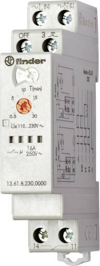 Zeitrelais Monofunktional 230 V/AC 1 St. Finder 13.61.8.230.0000 Zeitbereich: 30 s - 20 min 1 Schließer