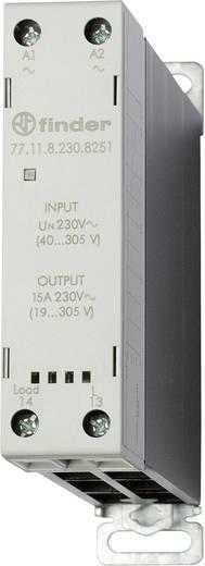 Halbleiterrelais 1 St. Finder 77.11.8.230.8251 Last-Strom (max.): 15 A Schaltspannung (max.): 305 V/AC Sofortschaltend