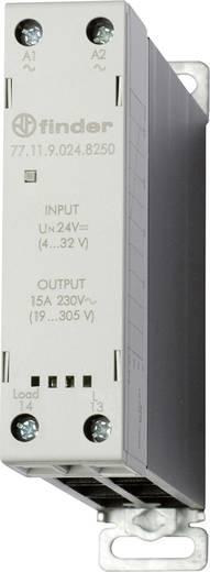 Finder Halbleiterrelais 1 St. 77.11.9.024.8250 Last-Strom (max.): 15 A Schaltspannung (max.): 305 V/AC Nullspannungsscha