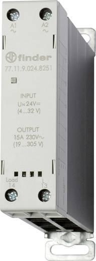 Halbleiterrelais 1 St. Finder 77.11.9.024.8251 Last-Strom (max.): 15 A Schaltspannung (max.): 305 V/AC Sofortschaltend