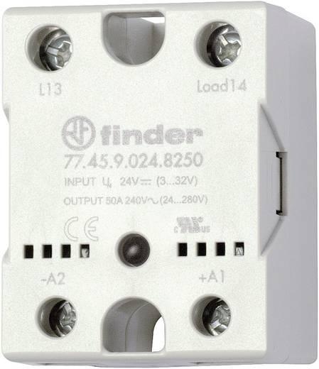 Halbleiterrelais 1 St. Finder 77.45.9.024.8250 Last-Strom (max.): 40 A Schaltspannung (max.): 240 V/AC Nullspannungsscha