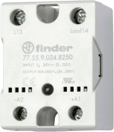 Halbleiterrelais 1 St. Finder 77.55.9.024.8250 Last-Strom (max.): 50 A Schaltspannung (max.): 240 V/AC Nullspannungsscha