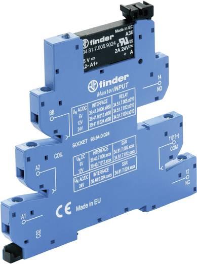 Halbleiterrelais 1 St. Finder 39.40.0.125.8240 Last-Strom (max.): 2 A Schaltspannung (max.): 230 V/AC