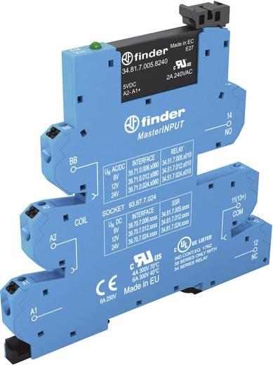 Halbleiterrelais 1 St. Finder 39.70.0.125.9024 Last-Strom (max.): 2 A Schaltspannung (max.): 24 V/DC