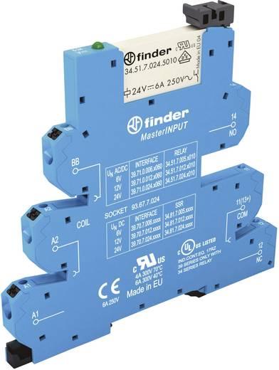 Koppelrelais 1 St. 24 V/DC, 24 V/AC 6 A 1 Wechsler Finder 39.71.0.024.5060