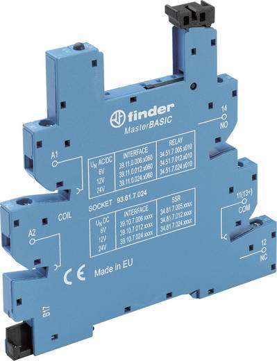 Relaissockel mit Haltebügel, mit LED, mit EMV-Entstörbeschaltung 1 St. Finder 93.61.7.024 Passend für Serie: Finder Seri