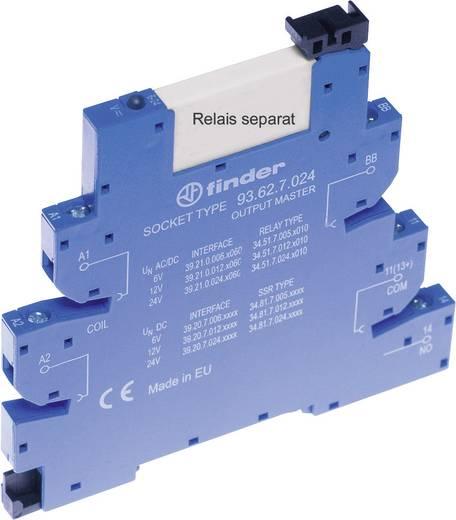 Relaissockel mit Haltebügel, mit LED, mit EMV-Entstörbeschaltung 1 St. Finder 93.62.7.024 Passend für Serie: Finder Seri