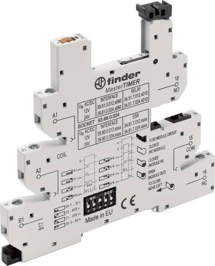 Relaissockel mit Haltebügel, mit LED, mit EMV-Entstörbeschaltung 1 St. Finder 93.68.0.024 Passend für Serie: Finder Seri