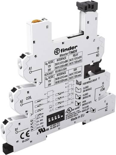 Relaissockel mit Haltebügel, mit LED, mit EMV-Entstörbeschaltung 1 St. Finder 93.69.0.024 Passend für Serie: Finder Seri