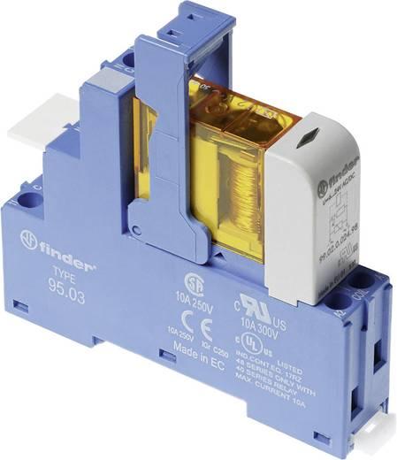 Relaisbaustein 1 St. Finder 48.31.7.024.0050 Nennspannung: 24 V/DC Schaltstrom (max.): 10 A 1 Wechsler