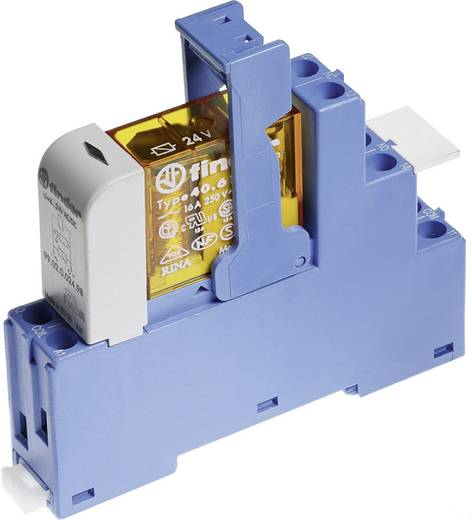 Finder 48.52.8.012.0060 Relaisbaustein 1 St. Nennspannung: 12 V/AC Schaltstrom (max.): 8 A 2 Wechsler