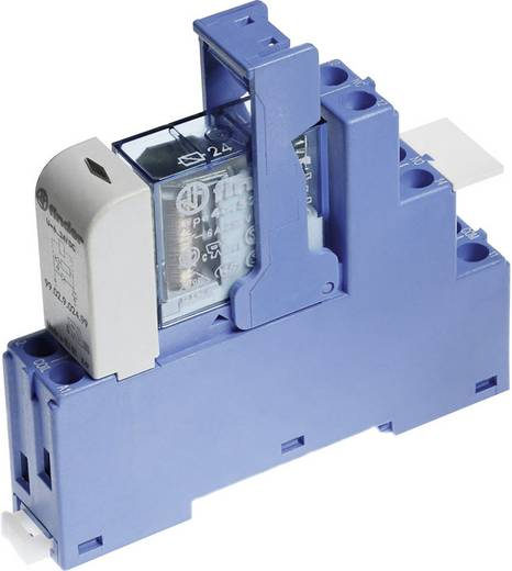 Relaisbaustein 1 St. Finder 48.61.7.012.0050 Nennspannung: 12 V/DC Schaltstrom (max.): 16 A 1 Wechsler