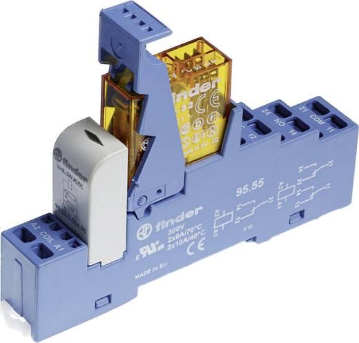 Relaisbaustein 1 St. Finder 48.81.8.024.0060 Nennspannung: 24 V/AC Schaltstrom (max.): 16 A 1 Wechsler