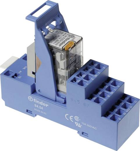 Relaisbaustein 1 St. Finder 58.54.9.024.0050 Nennspannung: 24 V/DC Schaltstrom (max.): 7 A 4 Wechsler