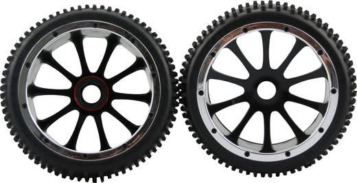 Amewi 1:5 Buggy Kompletträder Multipin 10-Speichen Schwarz 1 Paar