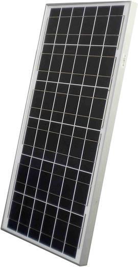 Monokristallines Solarmodul 50 Wp 12 V Sunset AS 50 C