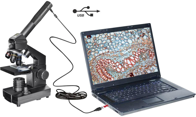 Kinder mikroskop monokular national geographic auflicht