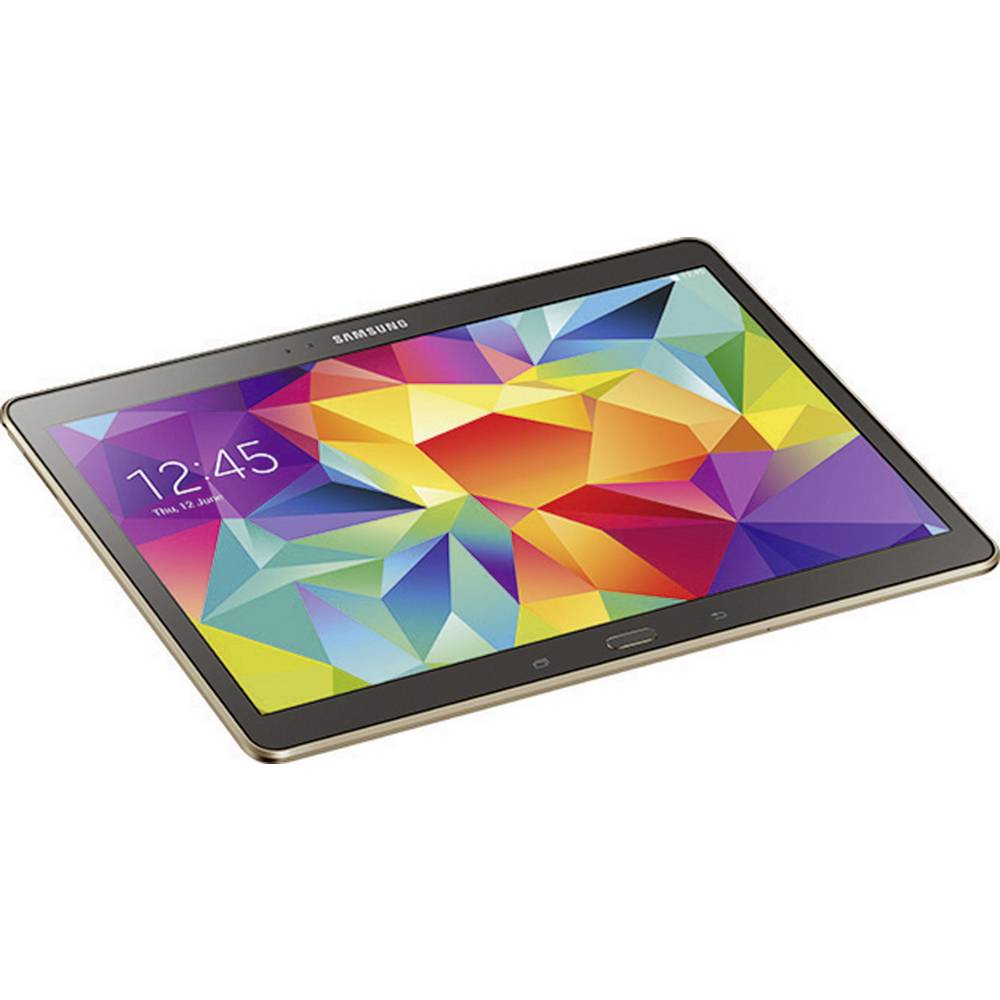 samsung galaxy tab s android tablet 26 7 cm 10 5 zoll 16 gb wi fi bronze 3 2 ghz octa core. Black Bedroom Furniture Sets. Home Design Ideas