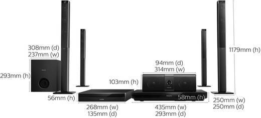philips htb5580g 3d blu ray heimkinosystem kaufen. Black Bedroom Furniture Sets. Home Design Ideas