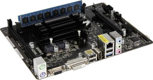 Renkforce PC-Tuning-Kit (Office) Intel® Celeron® J1900 (4 x 2.0 GHz) 4 GB Intel HD Graphics Micro-ATX