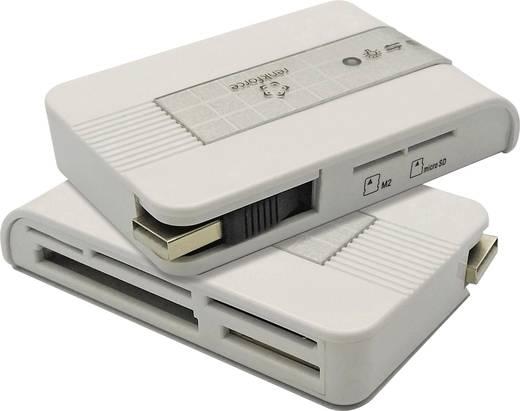 Externer Speicherkartenleser USB 2.0 Renkforce CR22e-SIM Silber
