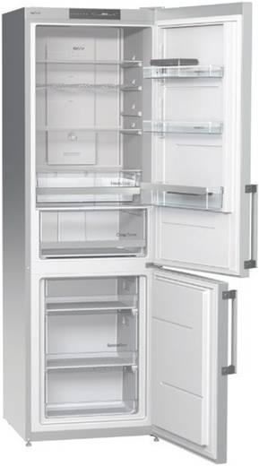 freistehende k hl gefrierkombination 306l inox. Black Bedroom Furniture Sets. Home Design Ideas