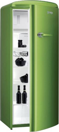 retro k hlschrank mit gefrierfach 281 l lime green. Black Bedroom Furniture Sets. Home Design Ideas