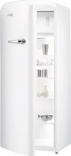 Retro kuhlschrank mit gefrierfach 281 l weiss for Retro kühlschrank ohne gefrierfach