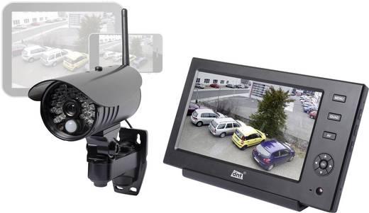 Funk-Überwachungskamera-Set 4-Kanal mit 1 Kamera 2.4 GHz dnt Quattsecure 52208