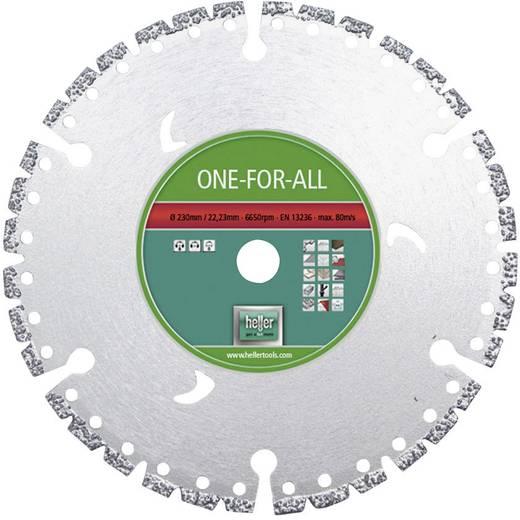 Diamanttrennscheibe ONE FOR ALL Heller 28680 0 Durchmesser 230 mm Innen-Ø 22.23 mm 1 St.