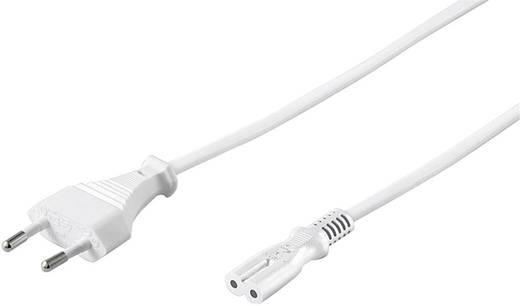 Strom Netzkabel Weiß 3 m Goobay 93987