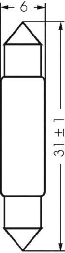 Soffittenlampe 18 V 1.80 W Sockel S5.5 Klar 00311801 Barthelme 1 St.