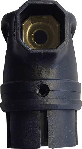 Schutzkontakt-Winkelstecker Gummi 230 V Schwarz IP44 interBär 9004-004.01