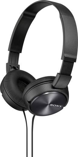 Kopfhörer Sony MDR-ZX310 On Ear Faltbar Schwarz