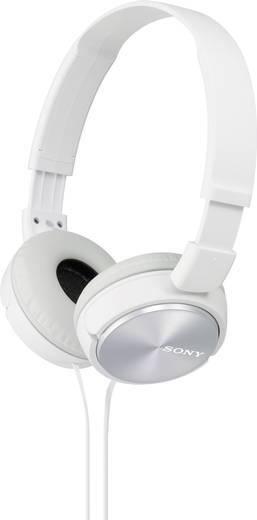 Kopfhörer Sony MDR-ZX310 On Ear Faltbar Weiß
