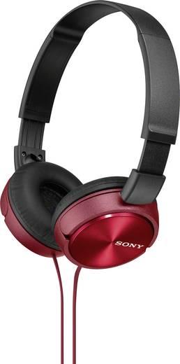Kopfhörer Sony MDR-ZX310 On Ear Faltbar Rot