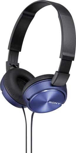Kopfhörer Sony MDR-ZX310 On Ear Faltbar Blau