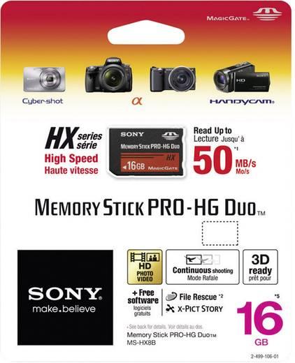 MemoryStick® PRO Duo-Karte 16 GB Sony Pro-HG Duo HX