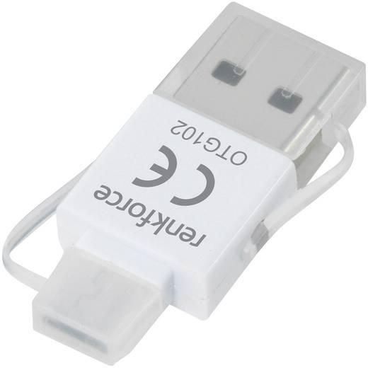USB-Kartenleser Smartphone/Tablet Renkforce OTG102 USB 2.0, Micro USB 2.0