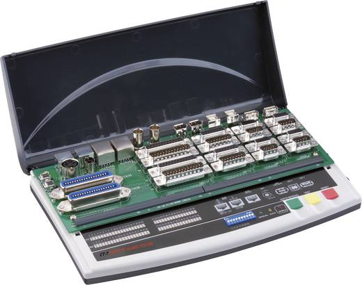 VOLTCRAFT CT-7 Kabeltester Geeignet für 9-, 15-, 25polige SUB-D, 15polig SUB-HD, Centronics, USB A + B, IEEE 1394, BNC,