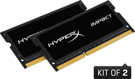 HyperX Laptop-Arbeitsspeicher Kit Impact Black HX316LS9IBK2/8 8 GB 2 x 4 GB DDR3L-RAM 1600 MHz CL9 9-9-33