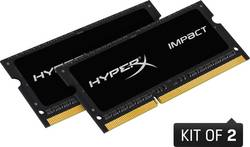 Image of Laptop-Arbeitsspeicher Kit HyperX Impact Black HX429S17IB2K2/16 16 GB 2 x 8 GB DDR4-RAM 2933 MHz CL 17-19-19