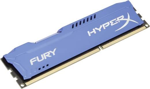 PC-Arbeitsspeicher Kit HyperX Fury Blue HX316C10FK2/8 8 GB 2 x 4 GB DDR3-RAM 1600 MHz CL10 10-10-37