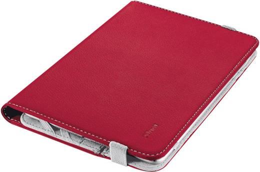 """Trust BookCase Tablet Tasche, universal Passend für Display-Größe (Bereich): 17,8 cm (7"""") - 20,3 cm (8"""") Rot"""