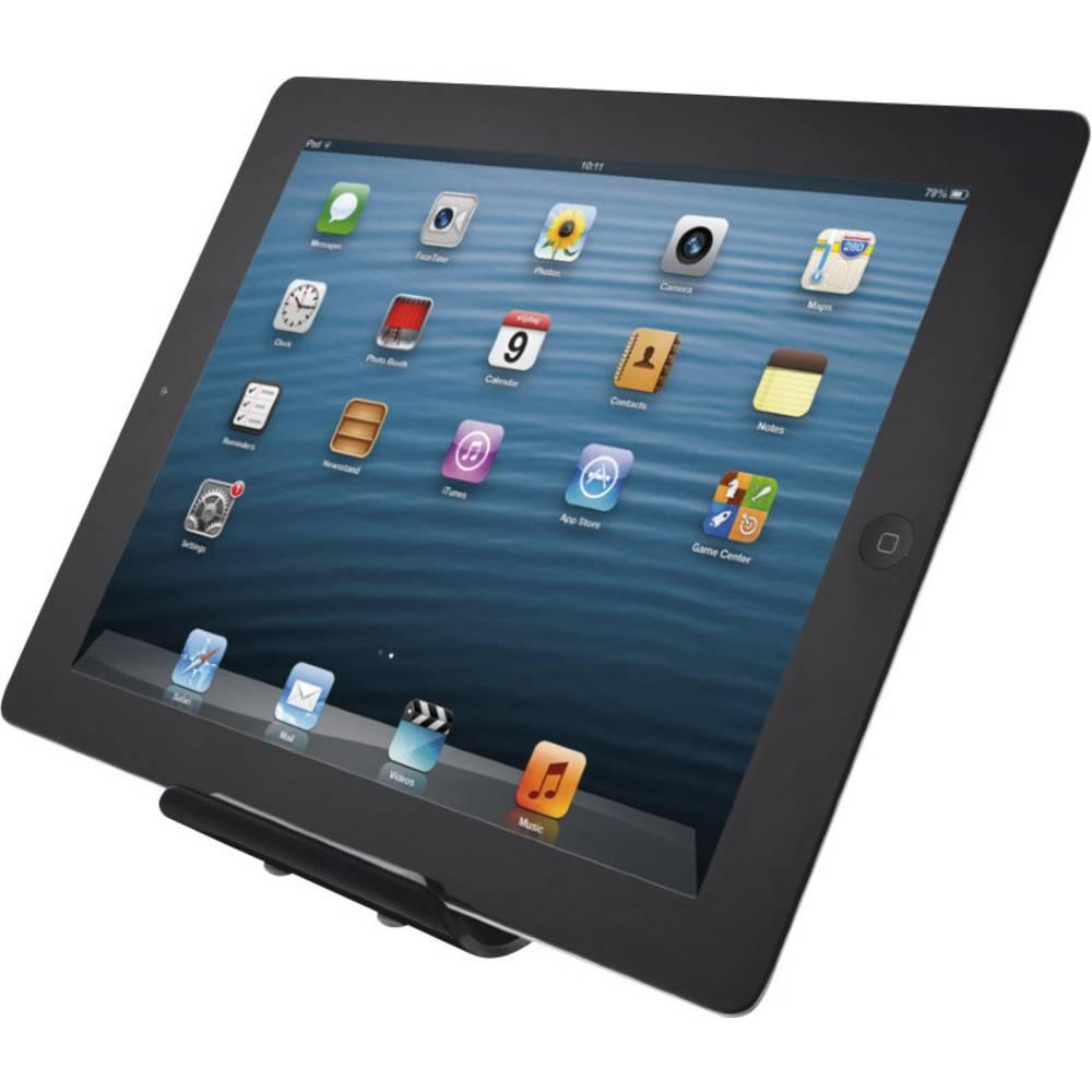 trust portable st nder f r tablets im conrad online shop 1219105. Black Bedroom Furniture Sets. Home Design Ideas