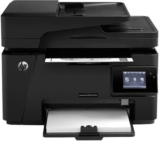 HP LaserJet Pro MFP M127fw Monolaser-Multifunktionsdrucker A4 Drucker, Scanner, Kopierer, Fax LAN, WLAN, ADF