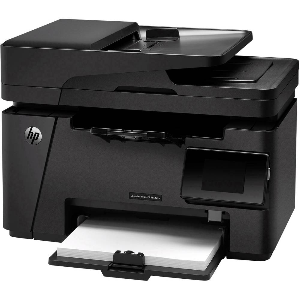 imprimante multifonction laser a4 hp laserjet pro mfp m127fw sur le site internet conrad 1219110. Black Bedroom Furniture Sets. Home Design Ideas